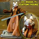 Shaak Ti Custom Figure by JVCustoms 2015
