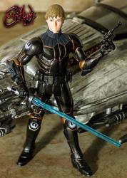Luke Skywalker Flight Suit Custom Figure JVCustoms
