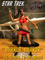Star Trek Uhura Reimagined figure Commission by jvcustoms