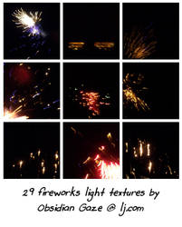 Fireworks Textures