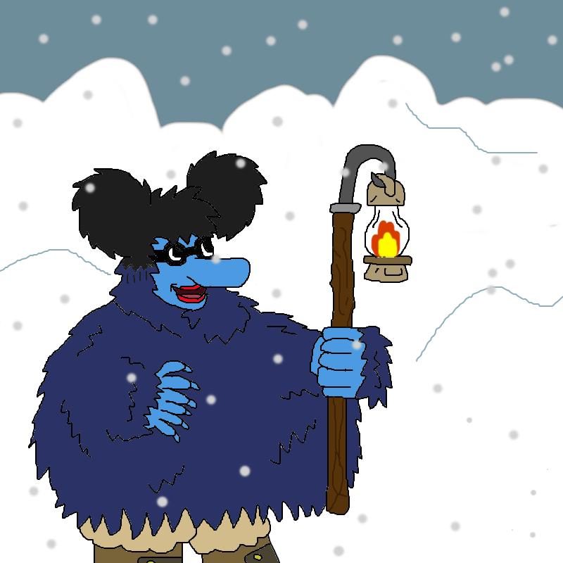 Ezekiel in snow by nickel8