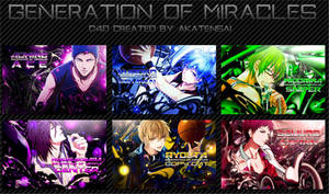 Generation of Miracles