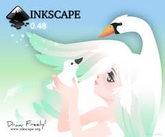 Inkscape 0.48  Screen Contest by Arwassa