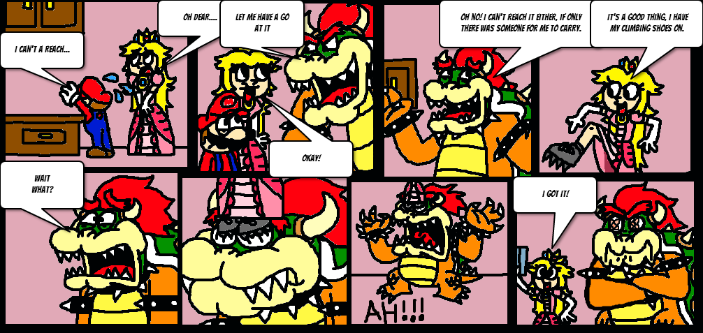 Are mario and princess peach dating