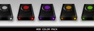 HDD Color Pack PNG