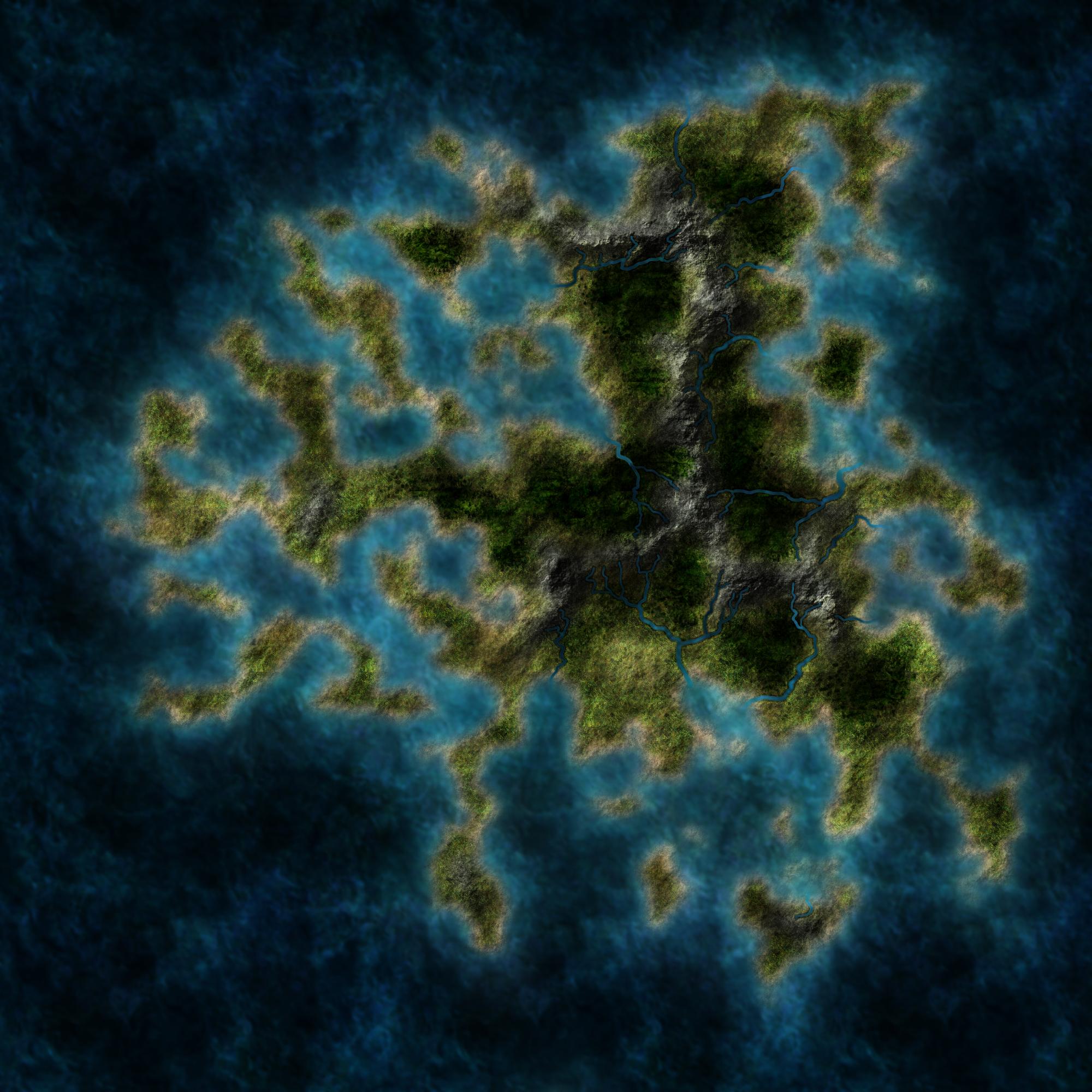 Generic Fantasy Map 03