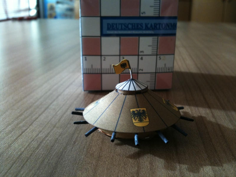 Da Vinci's Tank papercraft by RocketmanTan