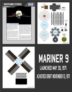 Mariner 9 papercraft