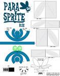 Parasprite papercraft
