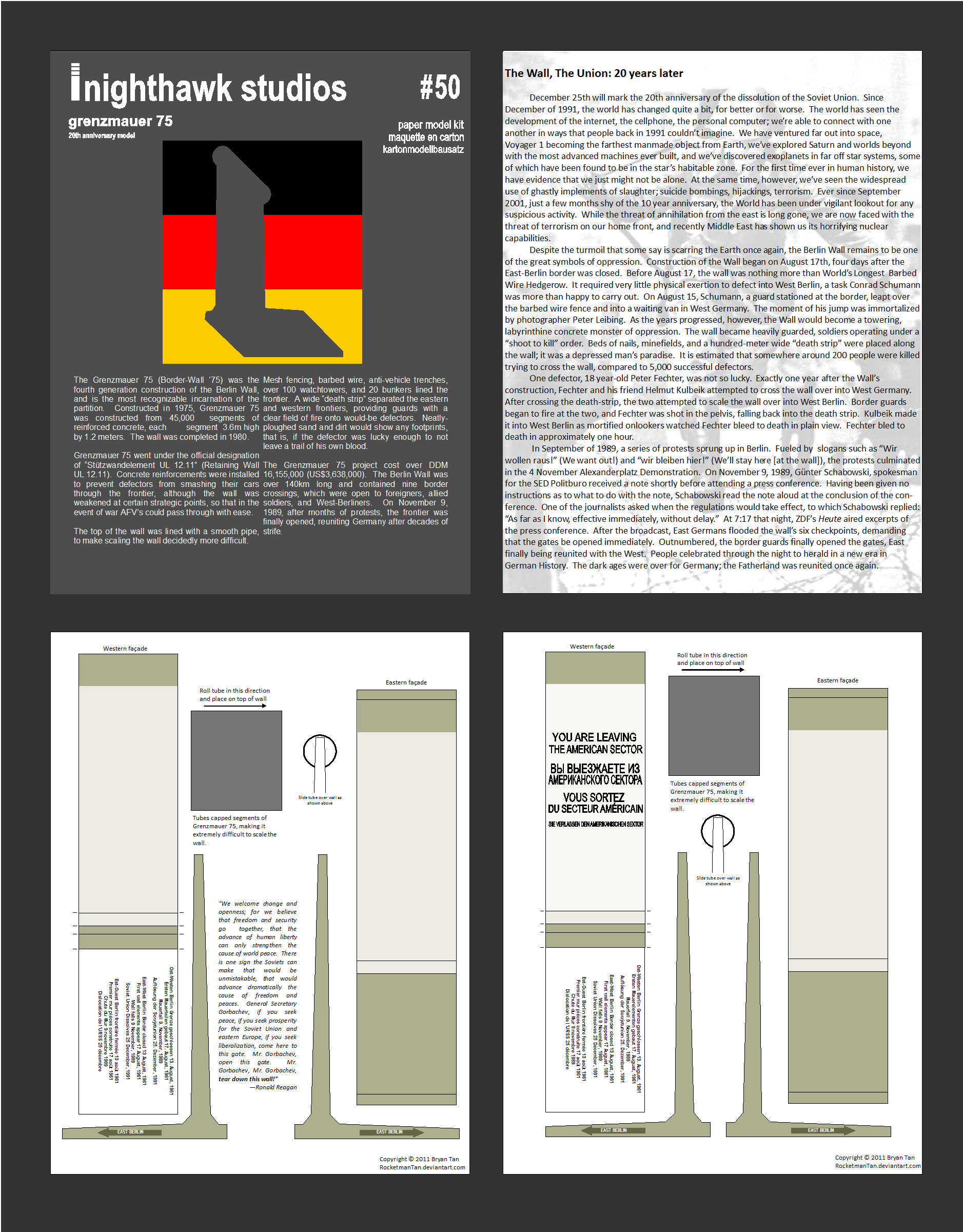 berlin wall essay papers History: european term papers (paper 2565) on the berlin wall: the berlin wall, built in august of 1961, was s physical symbol of the political and emotional.