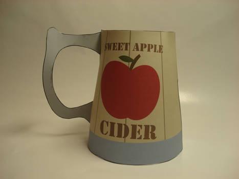 MLP - Apple Cider tankard papercraft