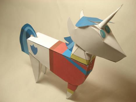 MLP - Shining Armor Doll papercraft