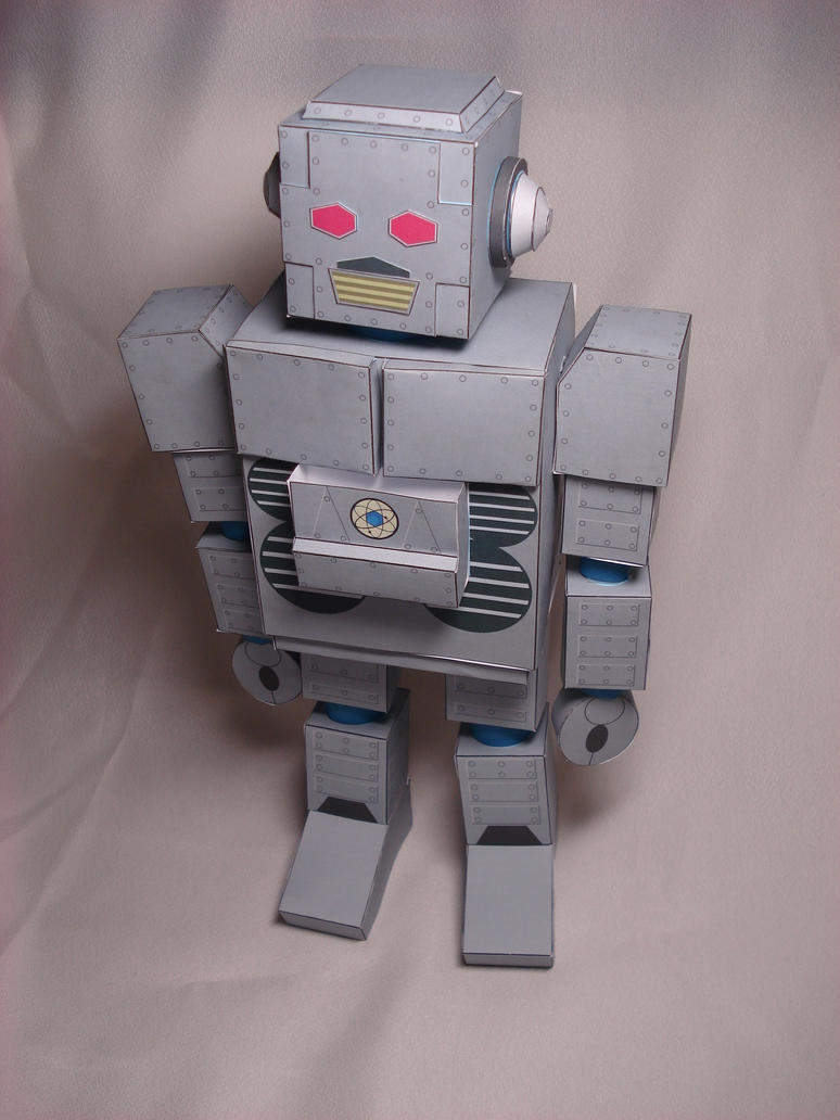 Beastie Boys Intergalactic Robot Papercraft by RocketmanTan