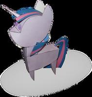 Twilight Sparkle doll papercraft