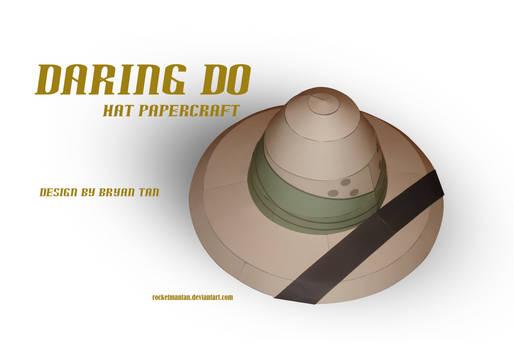 MLP - Daring Do's Hat Papercraft