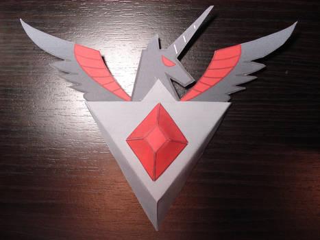MLP - Alicorn Amulet Papercraft