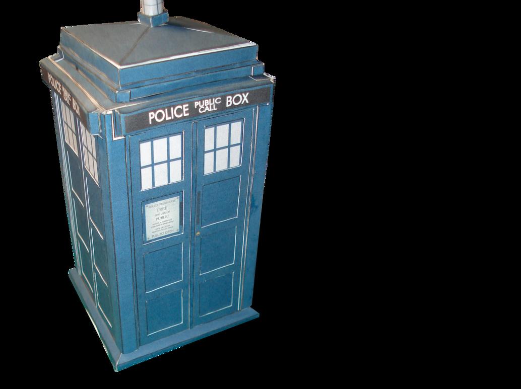 TARDIS Papercraft Templates by RocketmanTan
