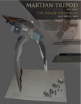 War of the Worlds Tripod Paper Model