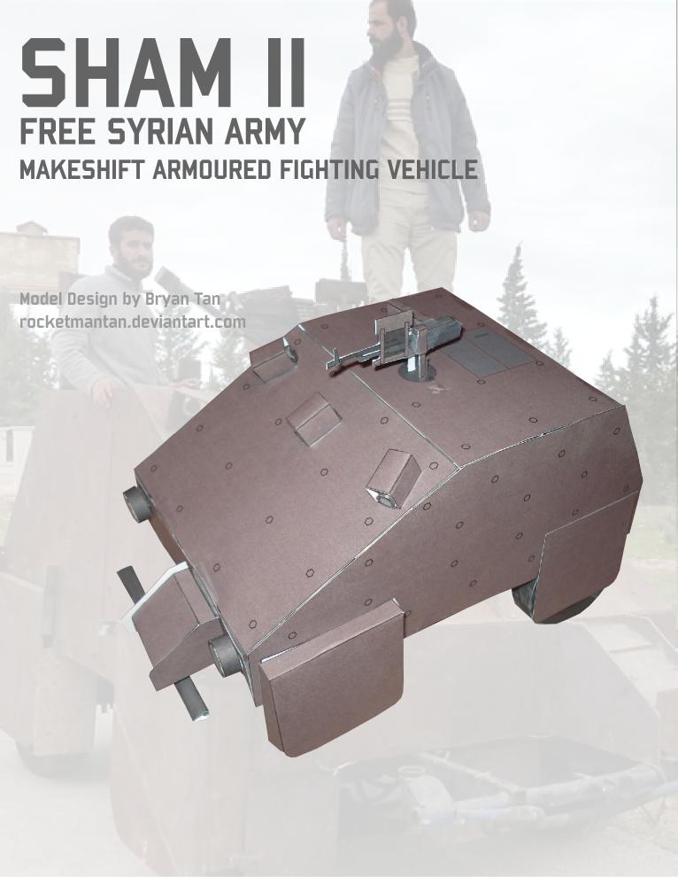 Syrian Homemade Tank Paper Model by RocketmanTan on DeviantArt