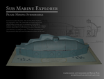 Sub Marine Explorer Steampunk Submarine Papercraft