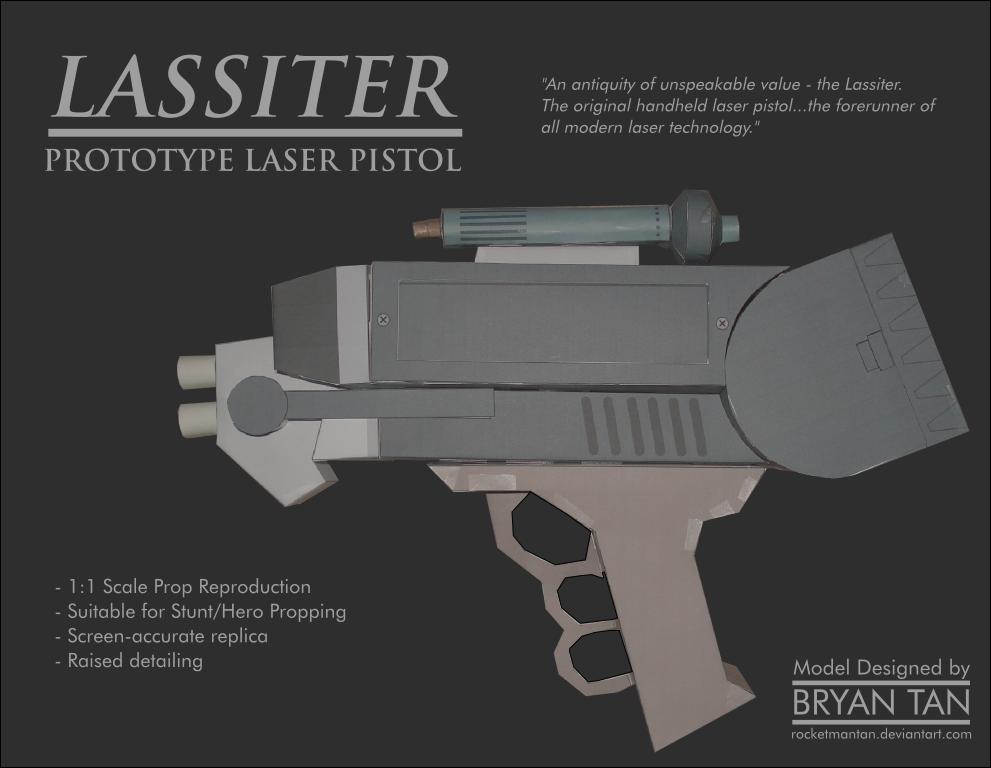 Firefly - Lassiter Antique Laser Pistol by RocketmanTan