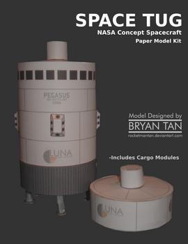 NASA Space Tug Paper Model