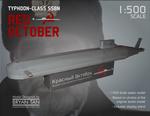 Red October Submarine Paper Model