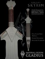 Skyrim - Imperial Sword Paper Model by RocketmanTan