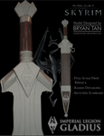 Skyrim - Imperial Sword Paper Model