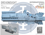 Ender's Game - Dreadnought Papercraft