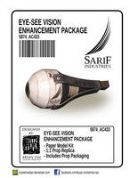 Deus Ex: - Sarif Industries Eye Augmentation Prop by RocketmanTan