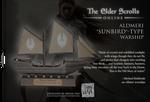 Elder Scrolls Online - Altmer Ship Paper Model