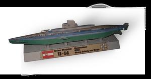 WWI Submarine U-14