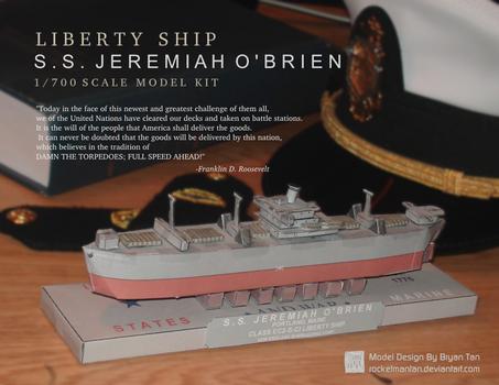 Liberty Ship Paper Model
