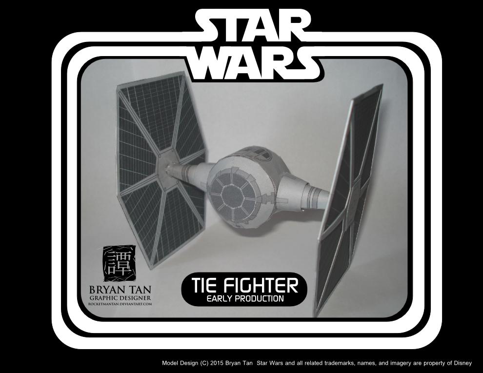 Star Wars Rebels - TIE Early production by RocketmanTan