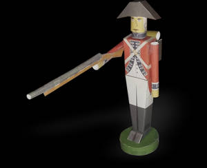 Paper Toy Soldier