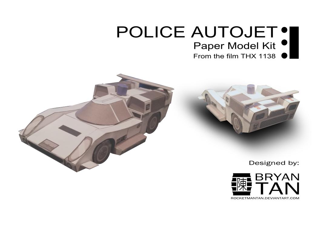 THX 1138 - Lola T70 Paper Model by RocketmanTan