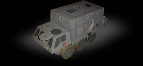 Firefly - Alliance Troop Transport Papercraft