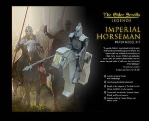 Elder Scrolls Online - Imperial Cavalry Papercraft