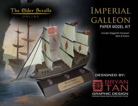 Elder Scrolls Online - Imperial Galleon Papercraft