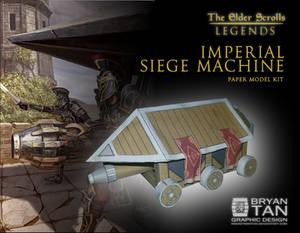 Elder Scrolls - Imperial Siege Engine Papercraft