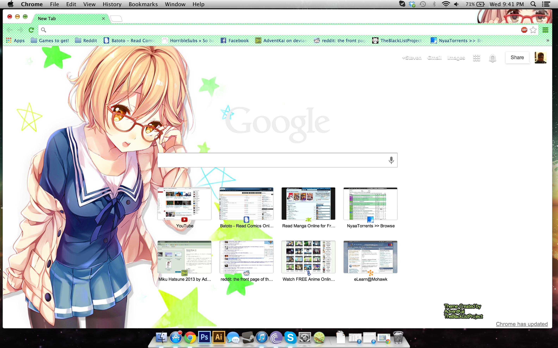 Google chrome theme guilty crown - Dioarrd 13 0 Mirai Kuriyama