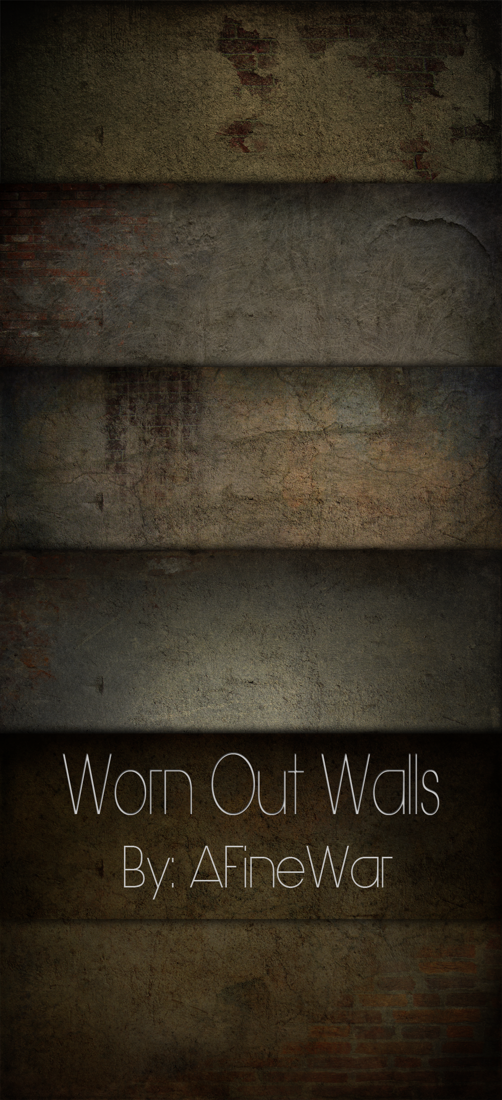 Worn Out Walls by AFineWar