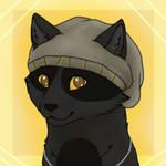 Beanie kitty (animated) by TessyTheWolf