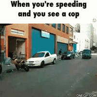 When you see a cop
