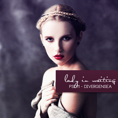 Psd11 lady in waiting by divergensea on deviantart for Psd11