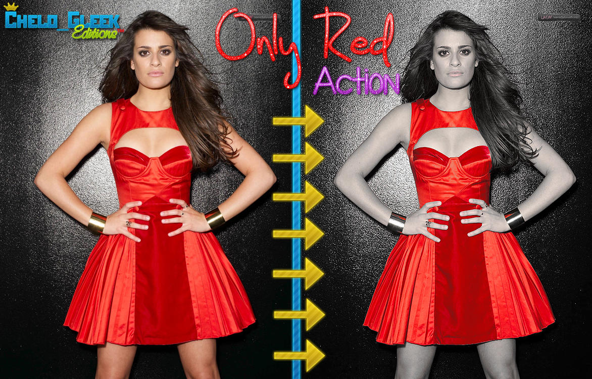 Only Red Action by CheloGleek