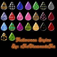 Halloween Styles by xXxDiamondxXx