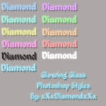 Glow Glass Photoshop Styles