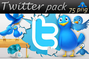 Twitter pack by AyameRD